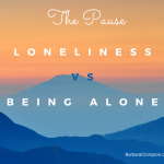 image - loneliness vs. being alone